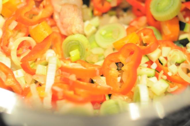 gryte med grønnsaker