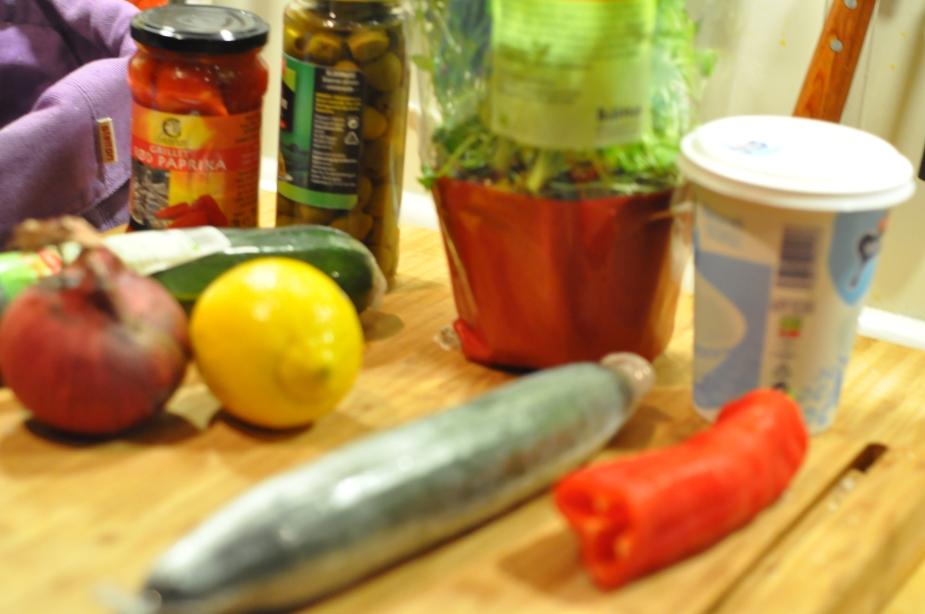 COUSCOUS TABBOULEH - ingredienser mer 2