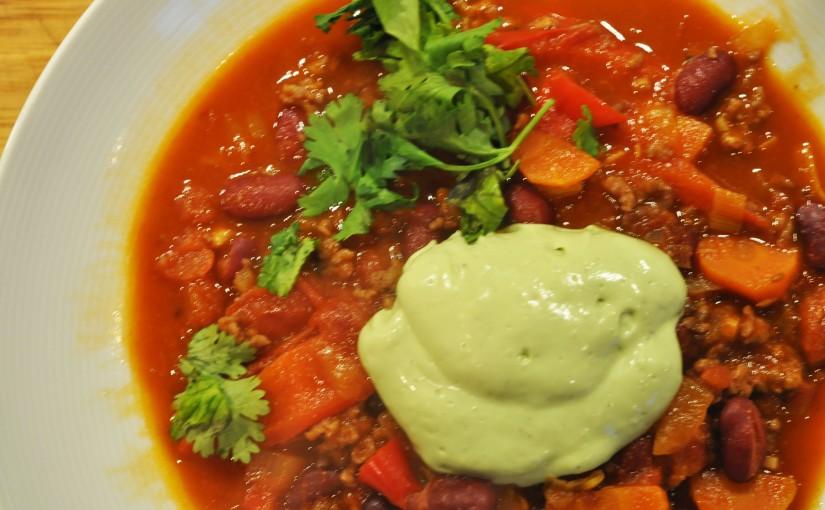 Chili con carne forkongen
