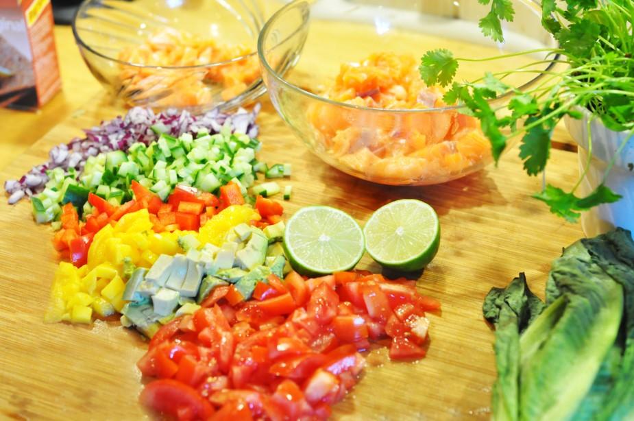 lime marienert laks _ingredienser