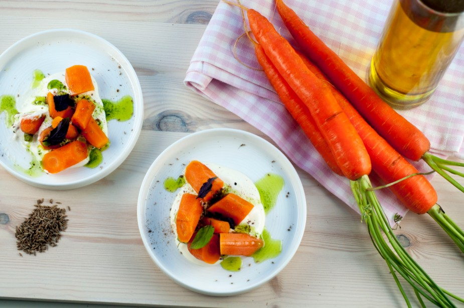 gulrot salat med urteolje og indiske krydder (1)