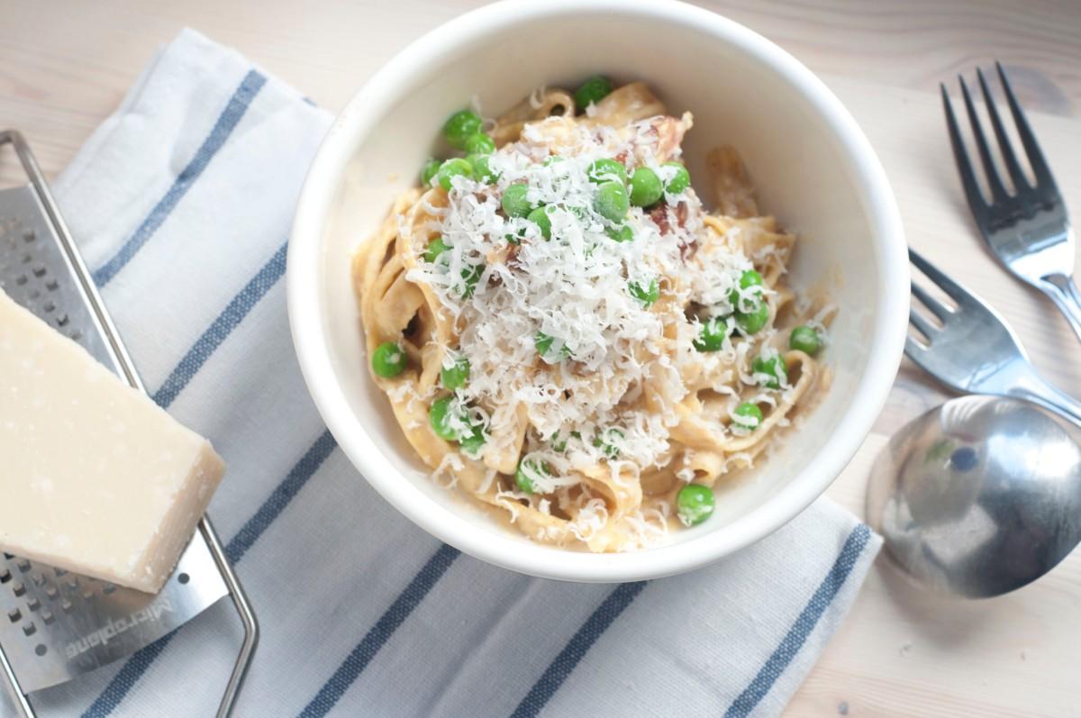 Pasta carbonara for kongen