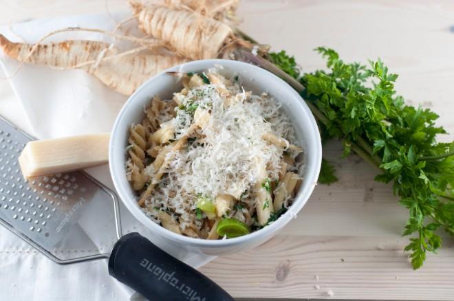 pasta med persillerot og purreløk (11)