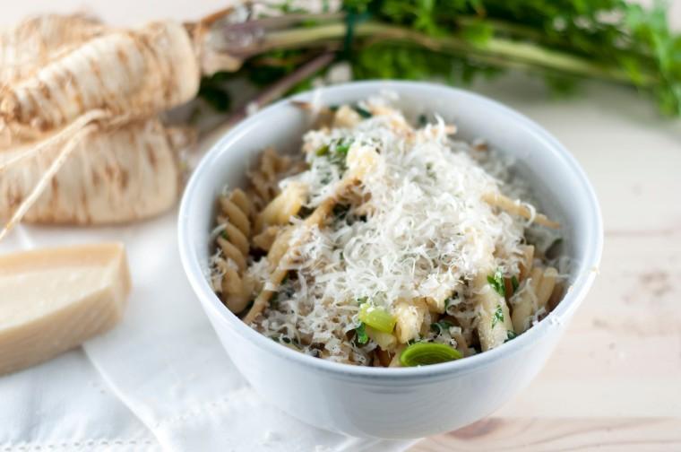 pasta med persillerot og purreløk (15)