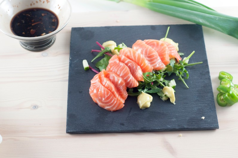 plating 5_sashimisalat med hjemmelaget ponzusaus og wasabimajones (9)